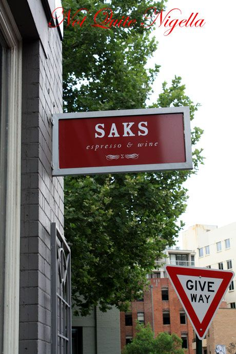 saks surry hills sign
