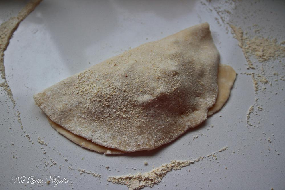 Salami Cheese Calzone