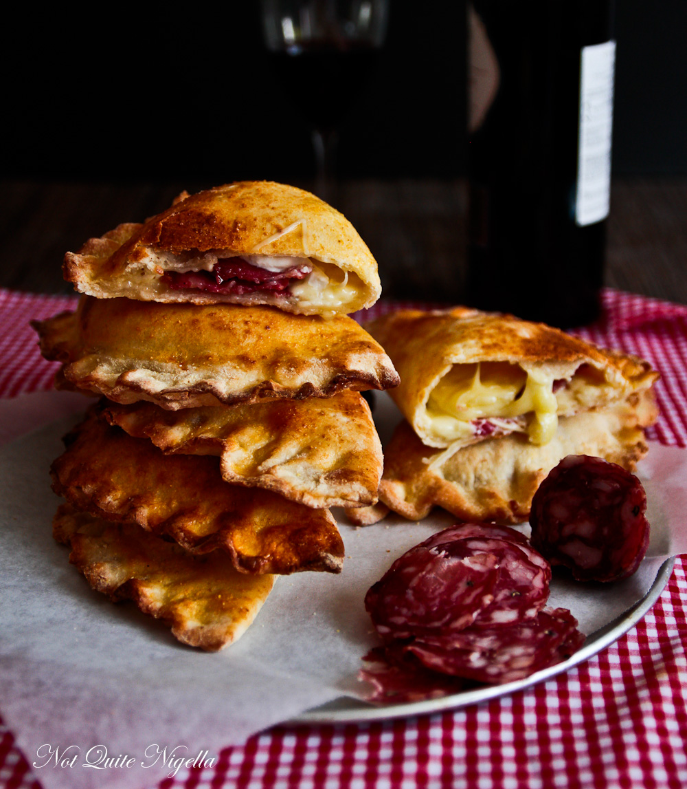 Salami Cheese Calzone