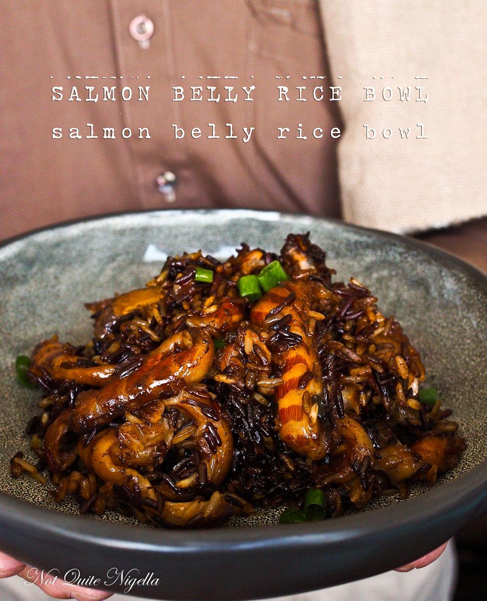 Salmon Belly Recipe