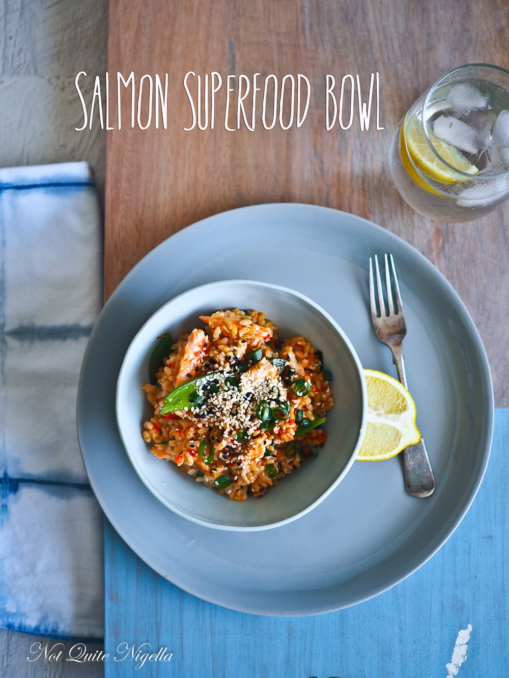 Salmon Belly Superfood Bowl