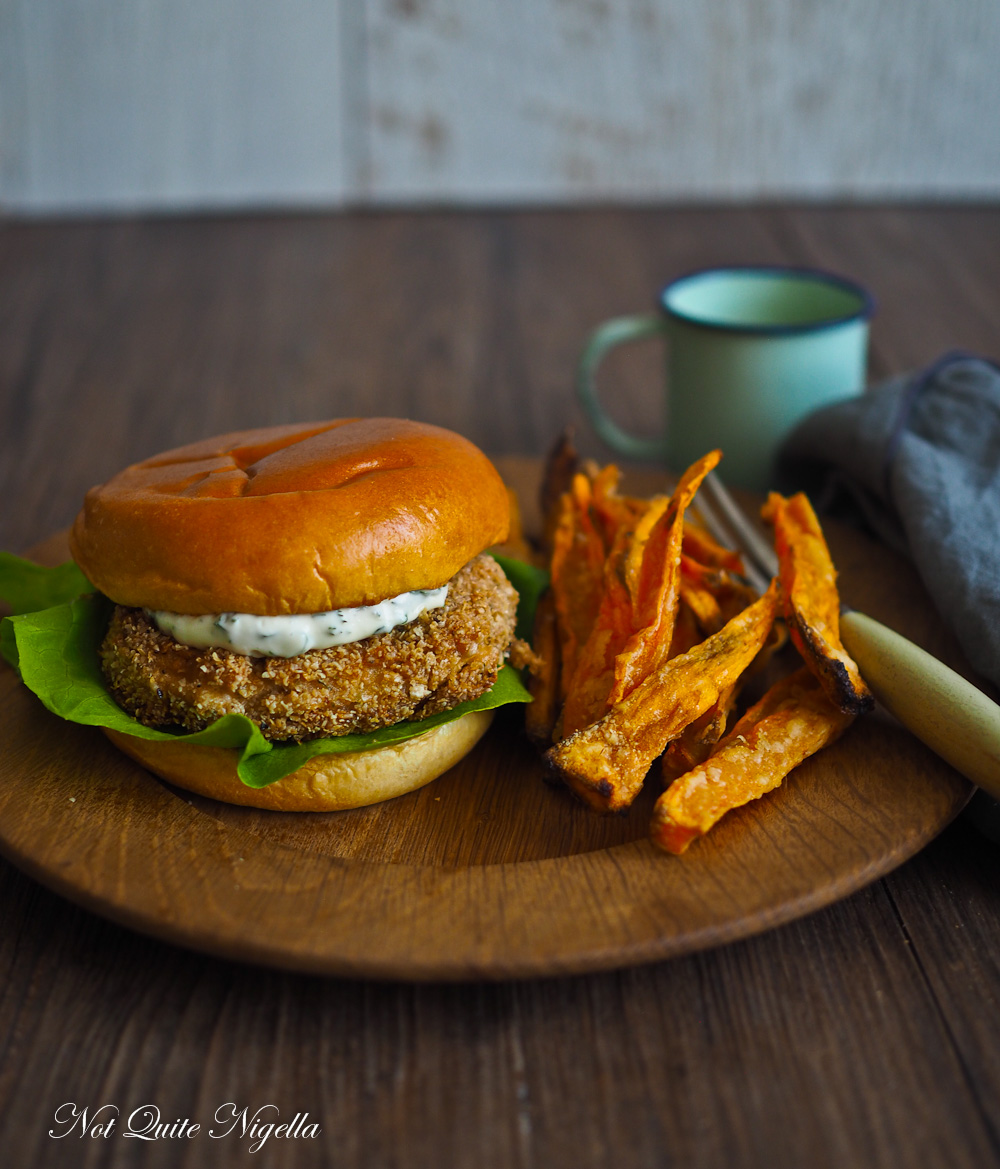Salmon Burger Pate
