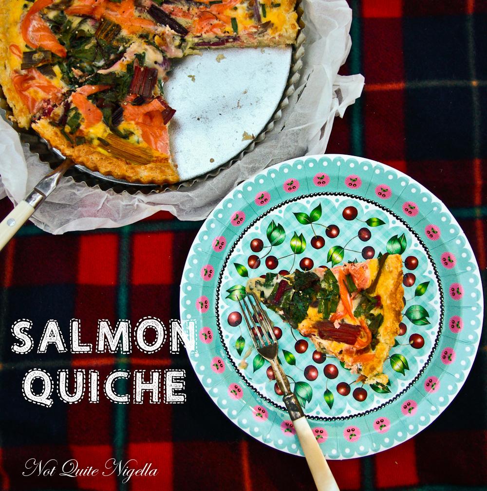 Salmon Quiche