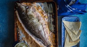 Salt Bae: Whole Salt Baked Fish