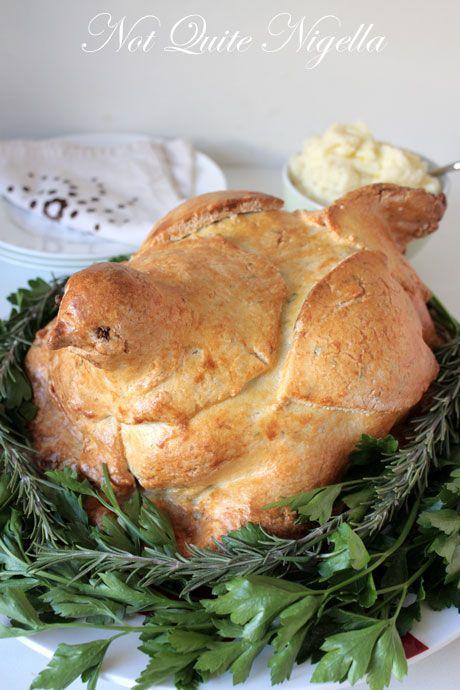 salt baked chicken recipe