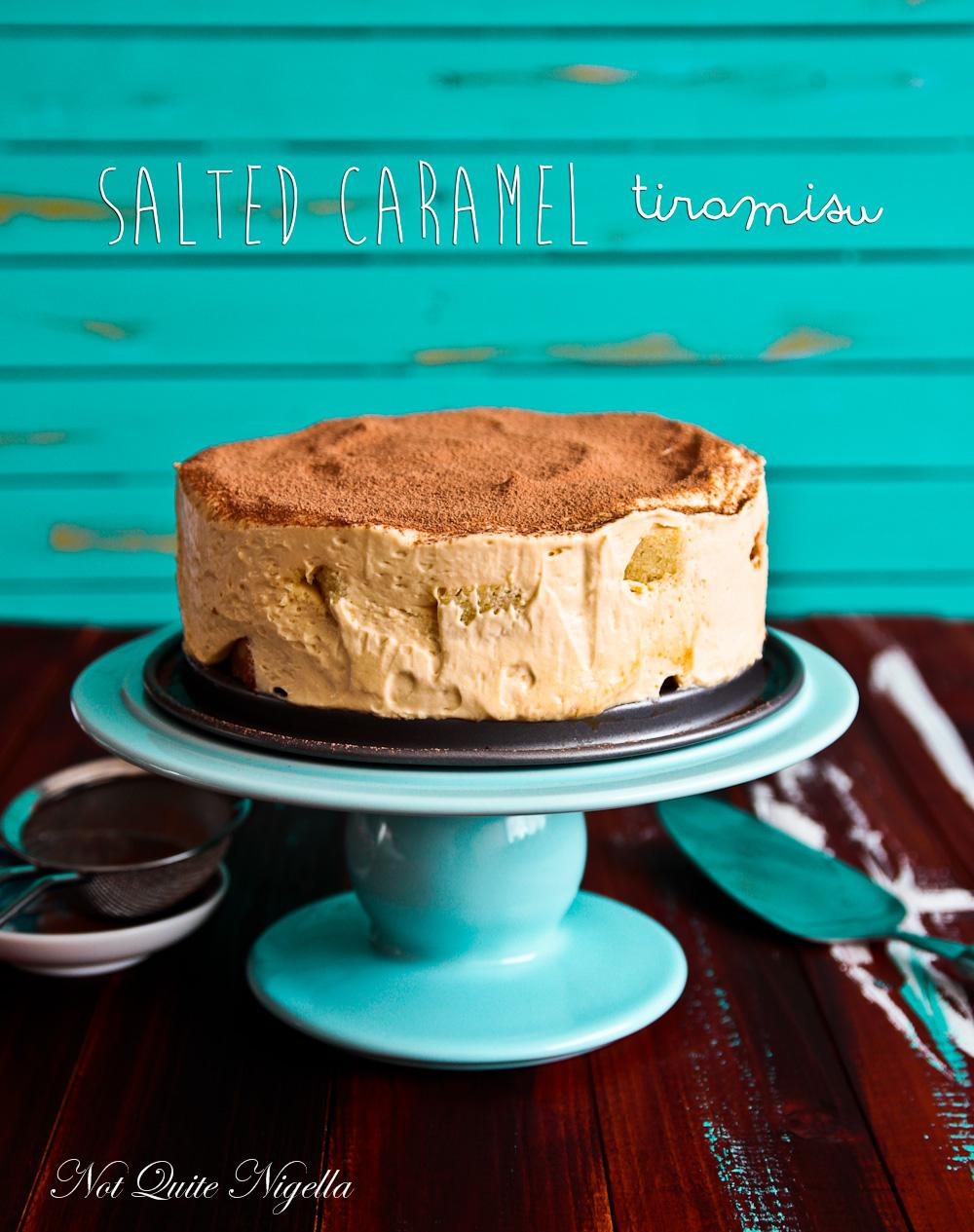 Salted Caramel Tiramisu
