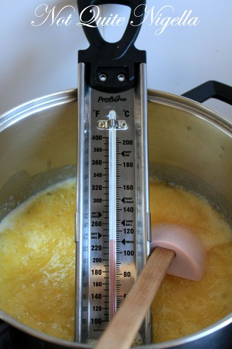 toffee cooking