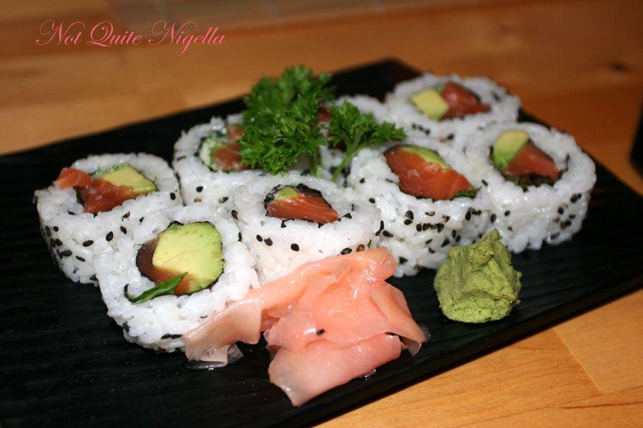 Samurai Japanese Cafe at Balmain-California rolls