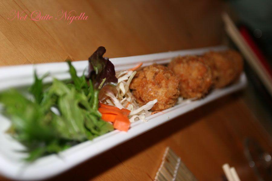 Samurai Japanese Cafe at Balmain- Korokke