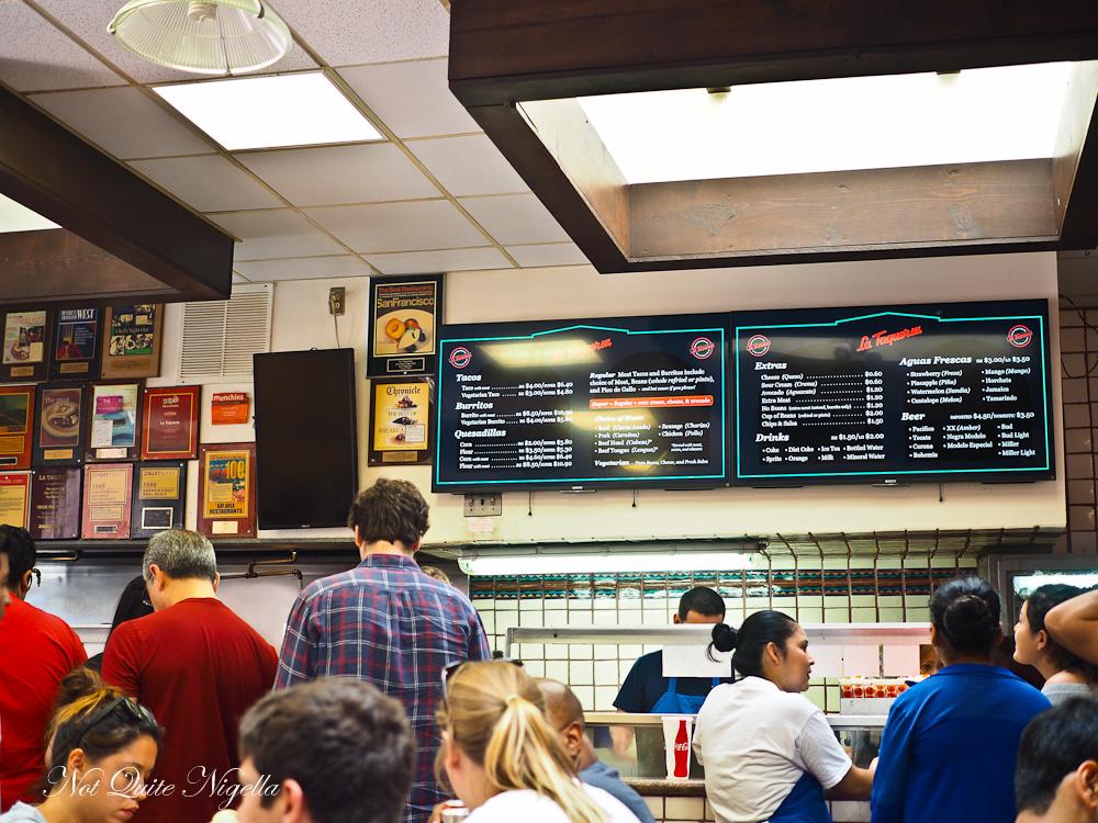 San Francisco Mission District food