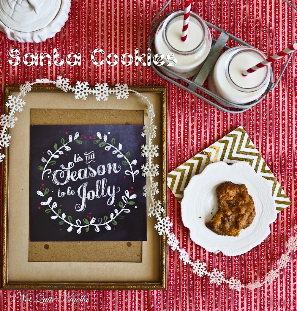 Santa S Favourite Chocolate Chip Cookies