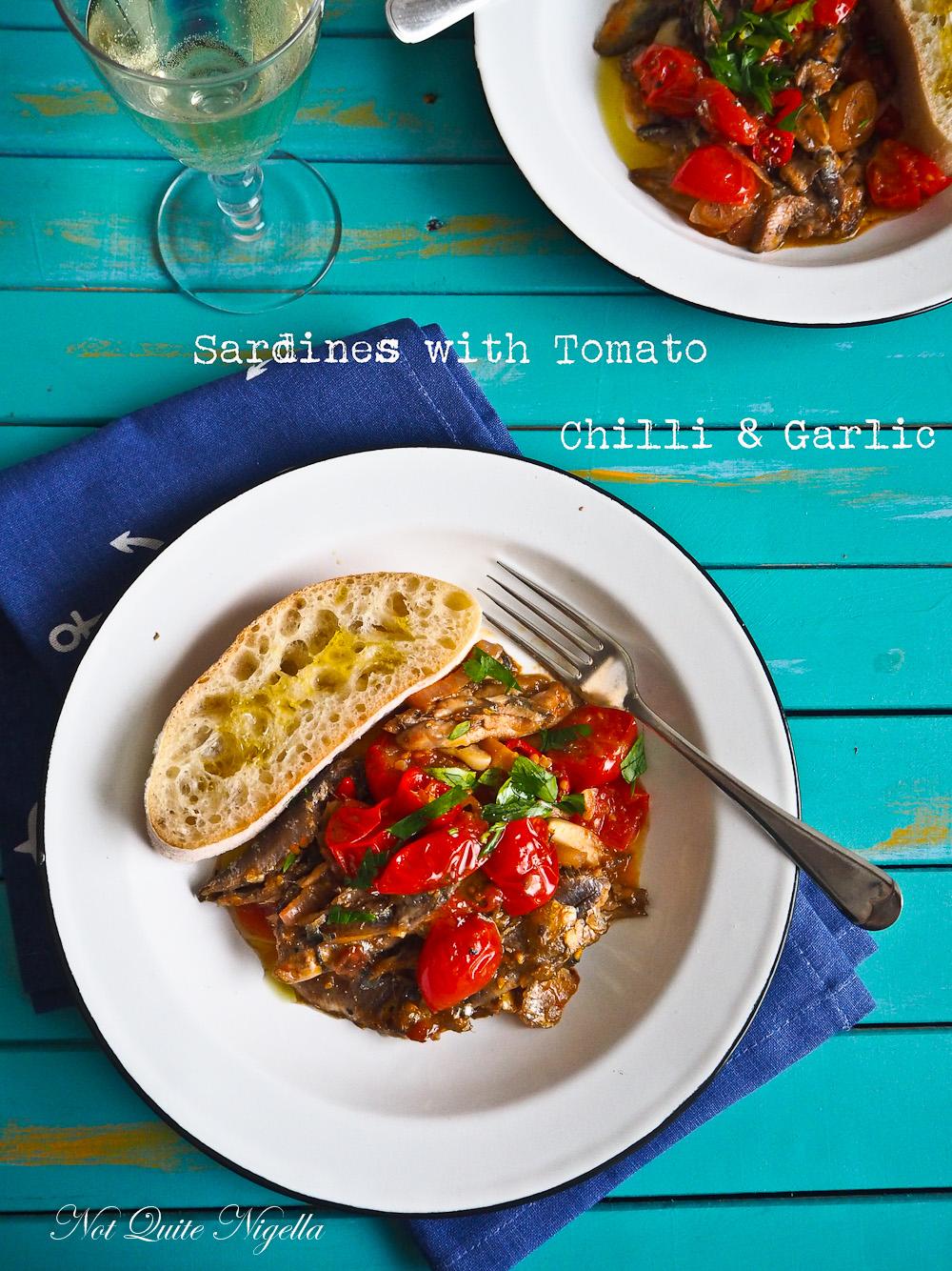 Sardines Tomato Garlic