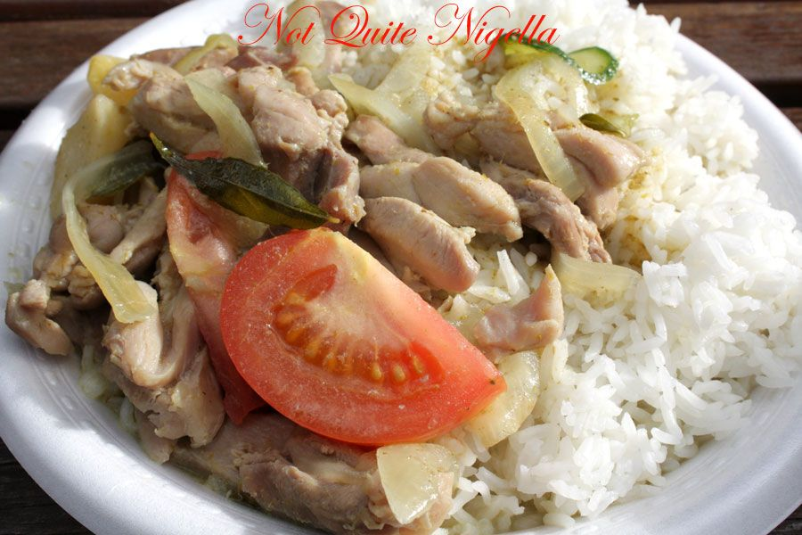 Satay Delight Green curry
