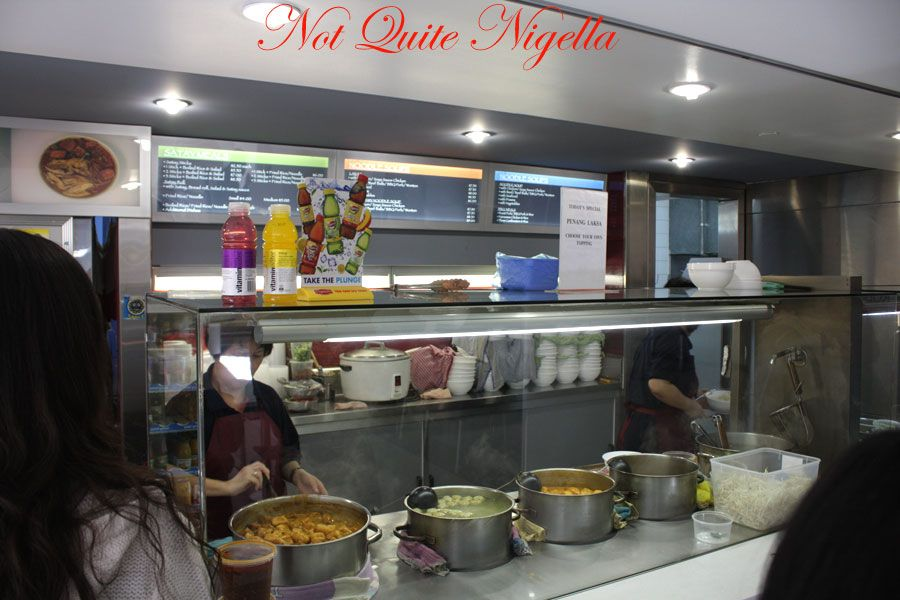 Satay Delight Noodle station