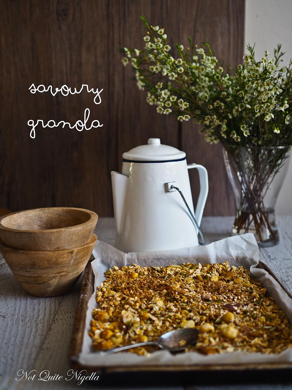 Savoury Granola