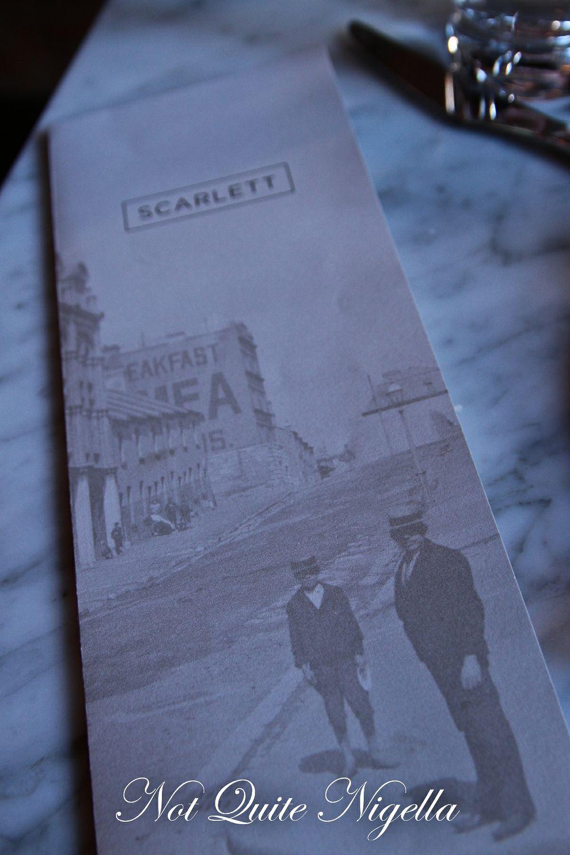 scarlett restaurant the rocks