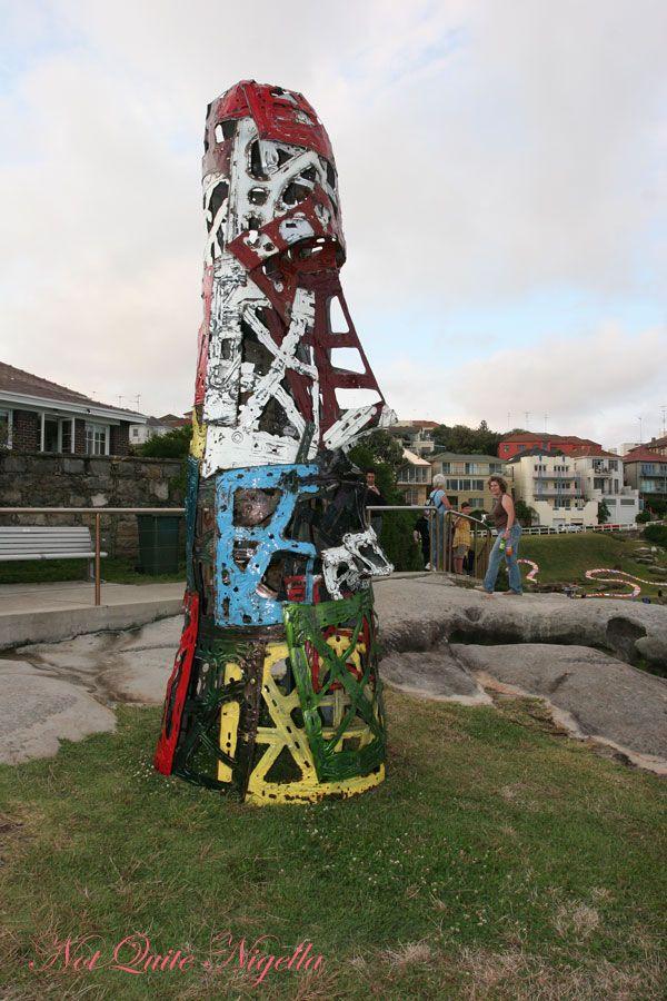 Sculpture by the sea Easter Island Car Bonnet