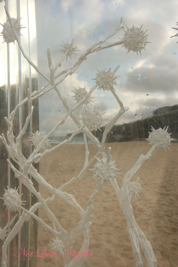 Sculpture by the Sea Perspex plants