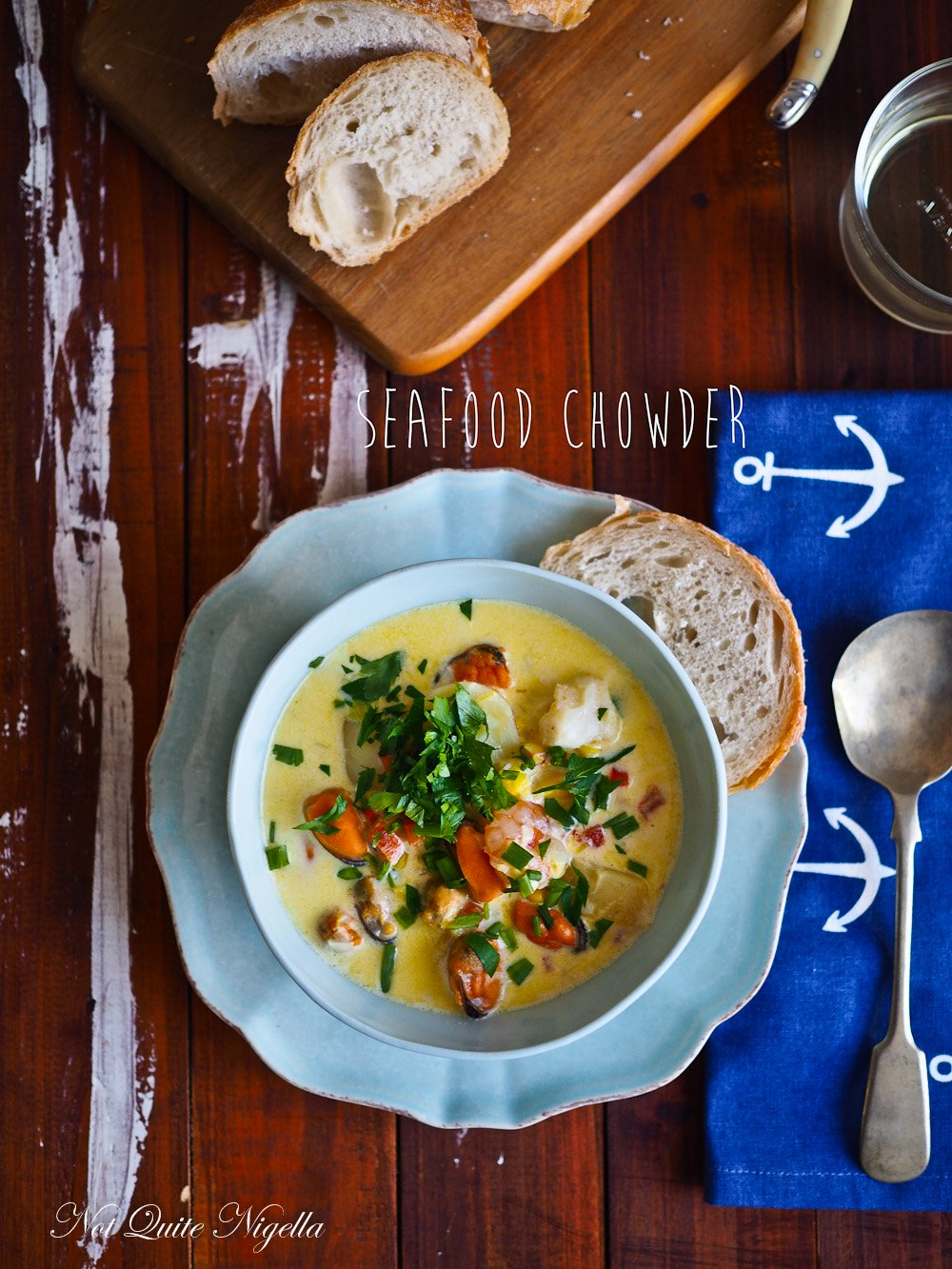 Best Seafood Chowder Recipe