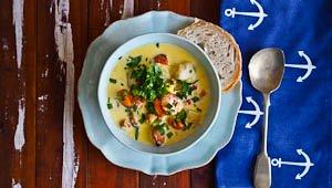 Creamy, Dreamy Seafood Chowder