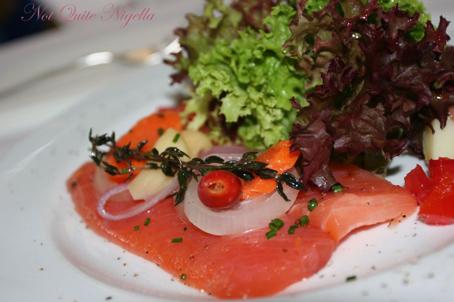 Sel et Poivre at Darlinghurst-marinated salmon