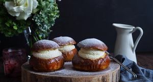 Fat Buns: Swedish Finnish Semla Cream & Jam Buns!