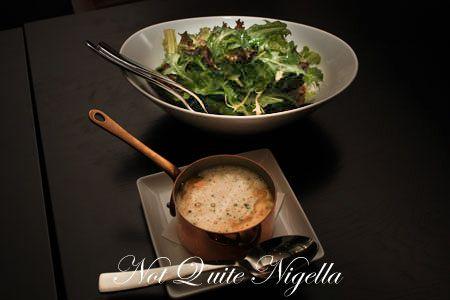 sepia restaurant creamed corn salad