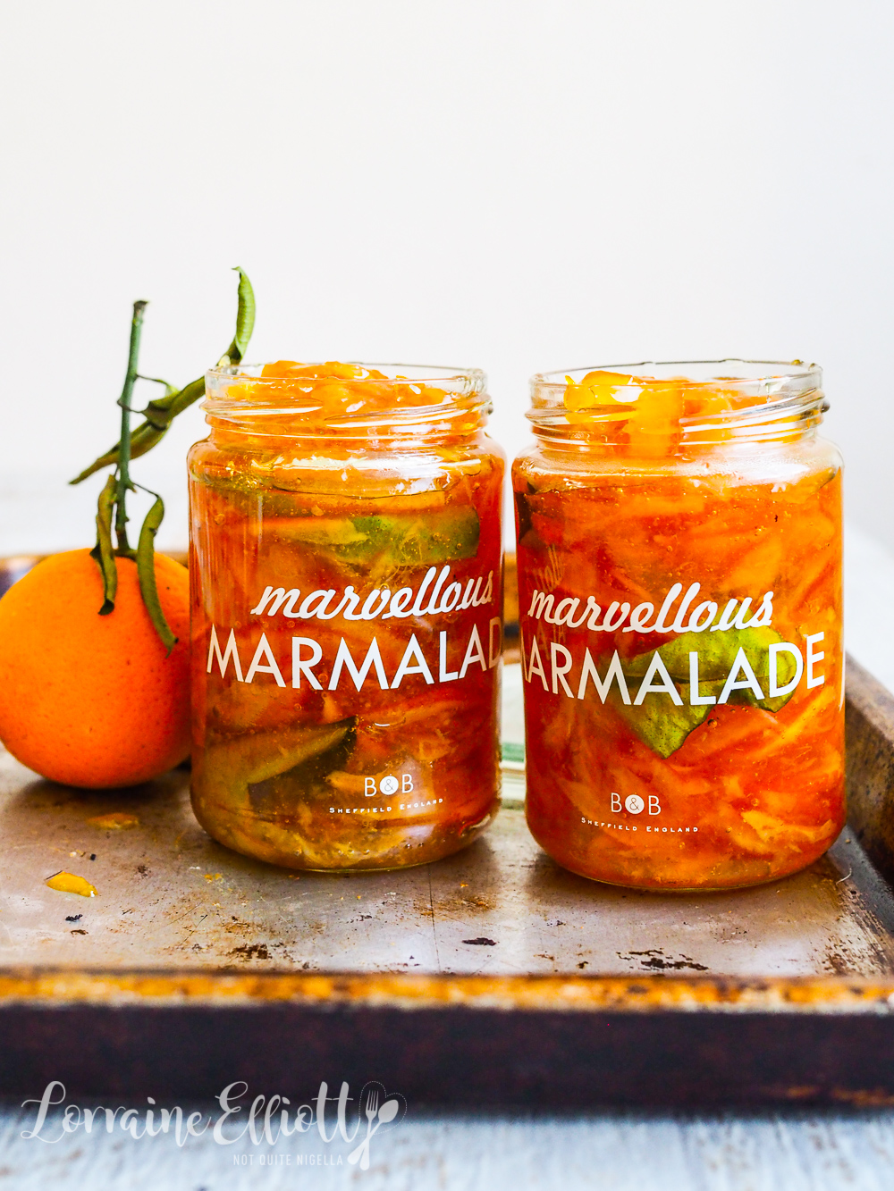 Seville Orange & Kaffir Lime Marmalade