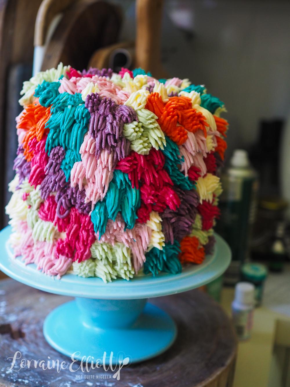 Shag Pom Pom Cake