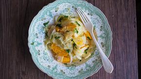 DIVINE Shaved Fennel & Orange Salad