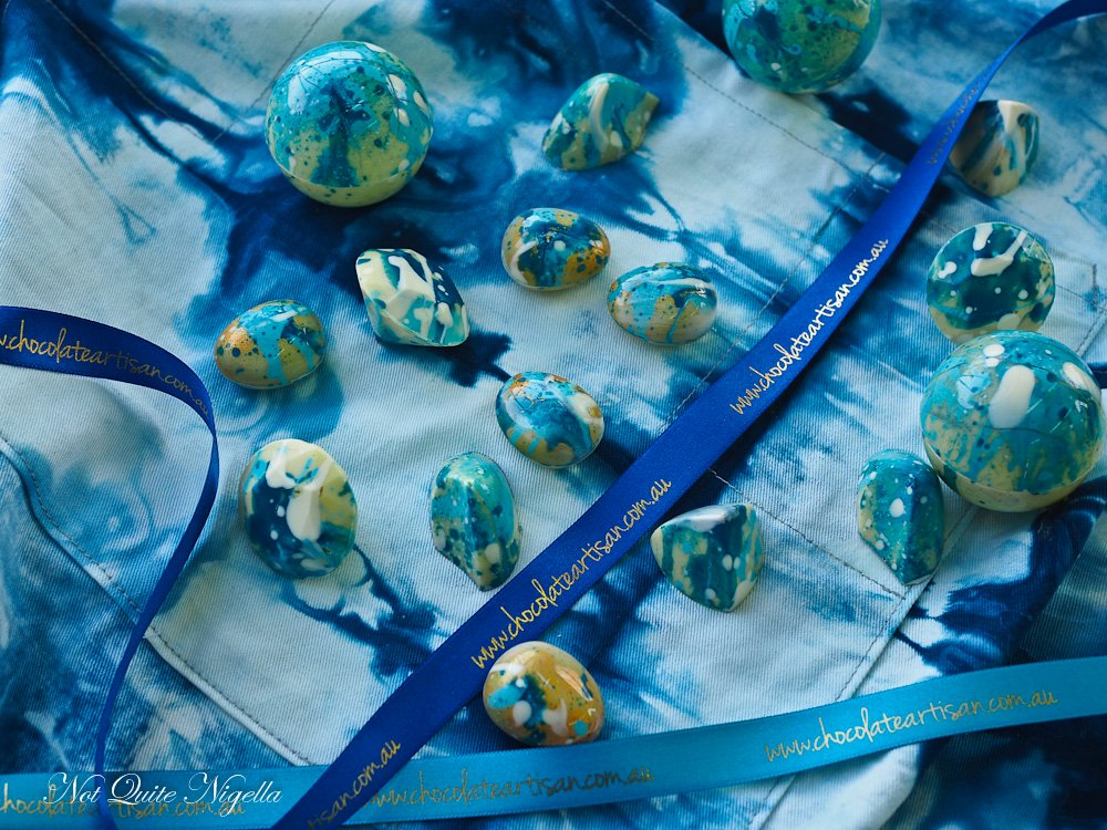Shibori Chocolates Tutorial