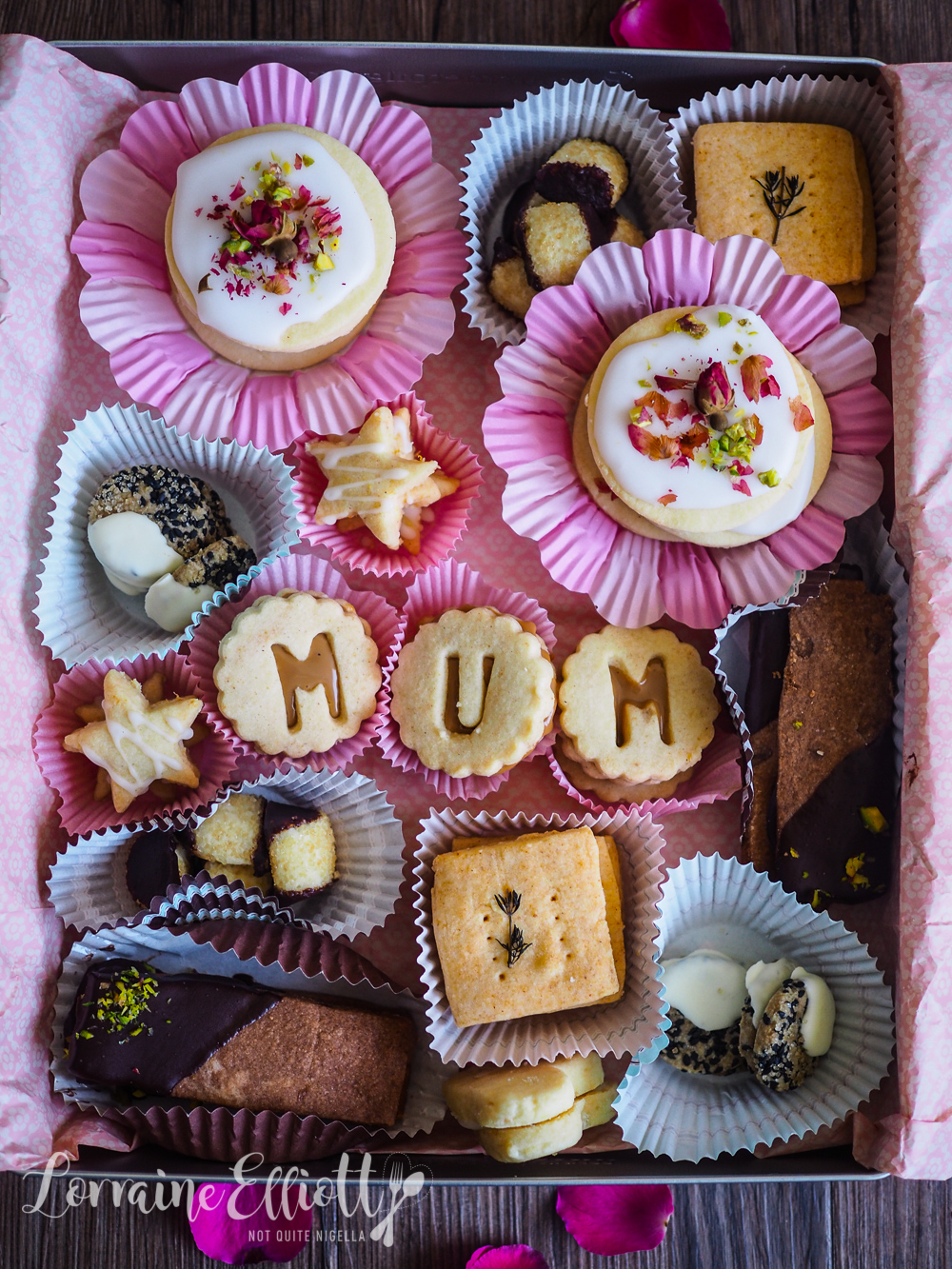 Mother's Day Shortbread Cookie Box
