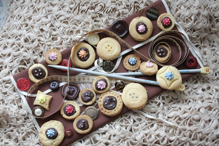 Shortbread Buttons