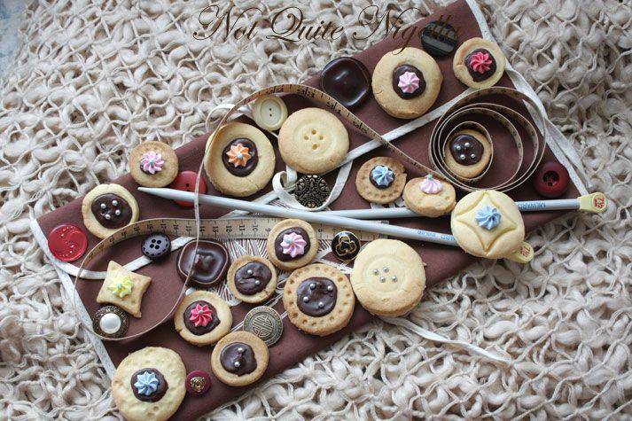 Shortbread Buttons