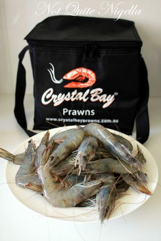 green crystal bay prawns