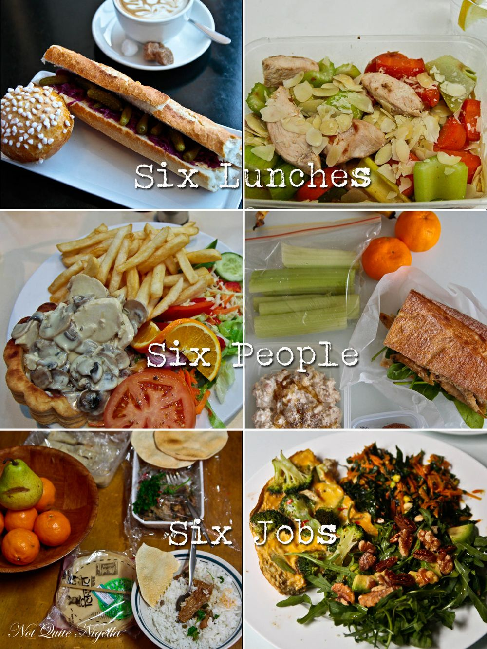 Six Lunches, Six People: What Do You Eat For Lunch? @ Not
