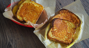 THE Sizzler Cheese Toast Recipe!
