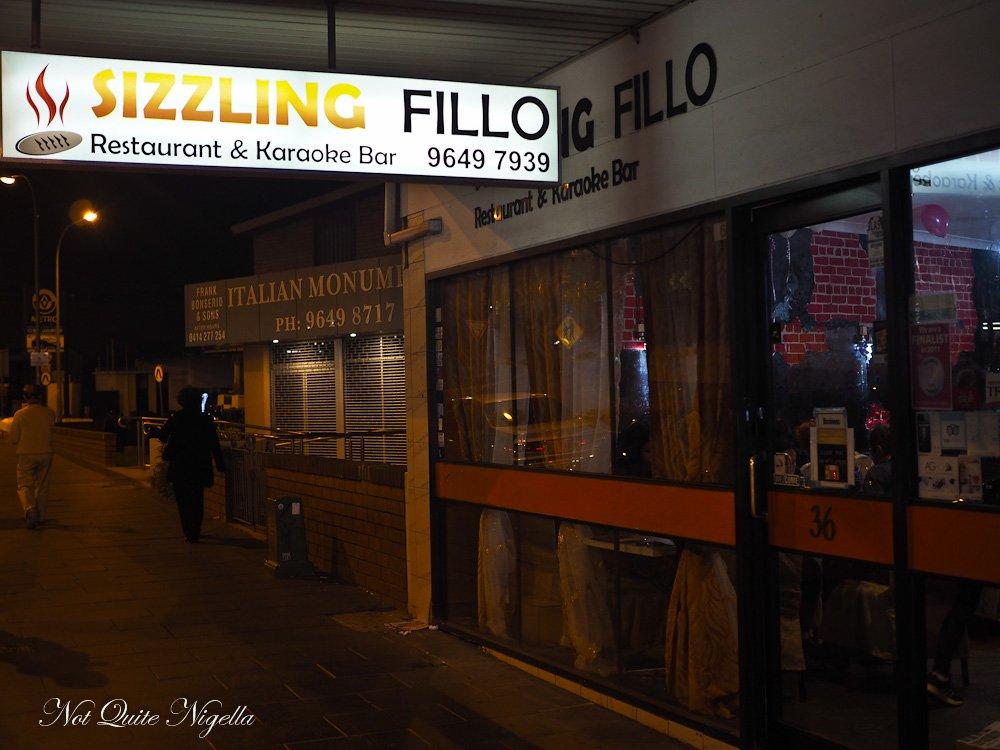 Sizzling Fillo Lidcombe