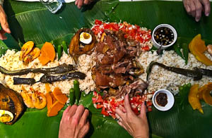 The Whole Kit and Ka-Boodle. A Boodle Feast at Sizzling Fillo, Lidcombe