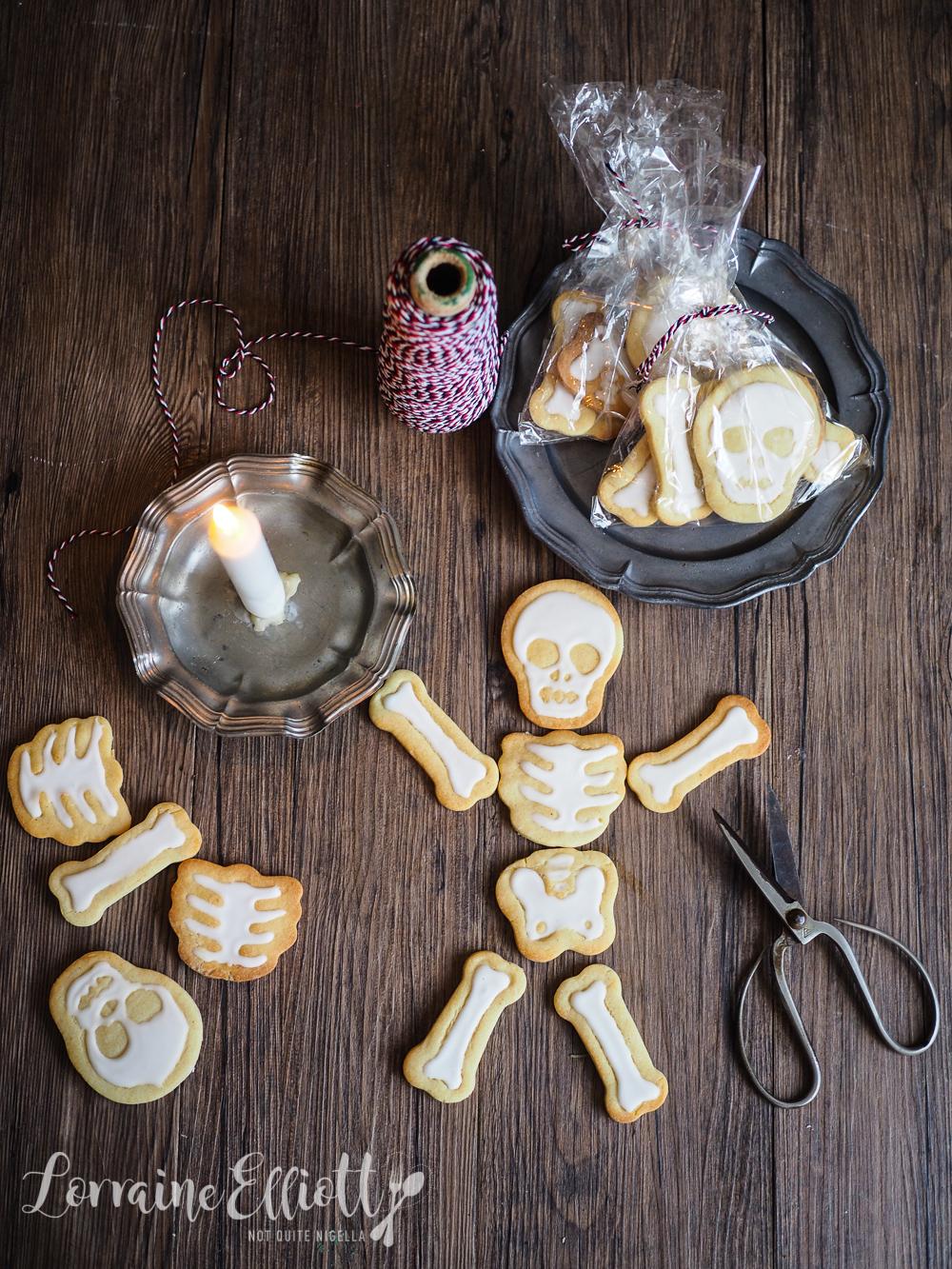 Skeleton Cookies Bag of Bones