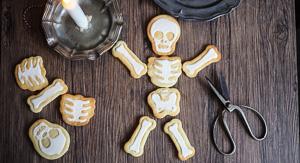 Dem Bones! Bag of Bones Skeleton Cookies