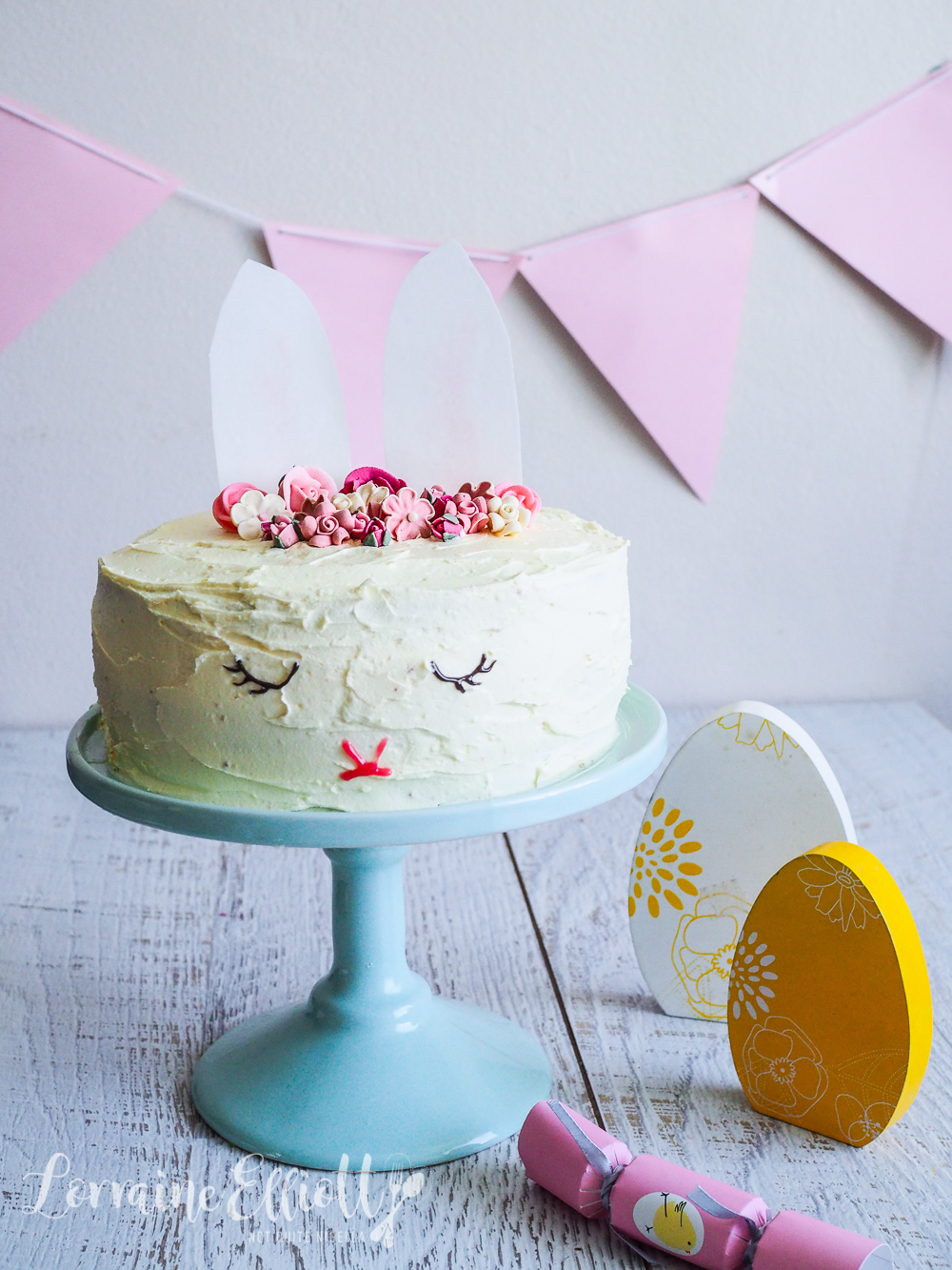 Sleeping Bunny Rabbit Surprise Cake