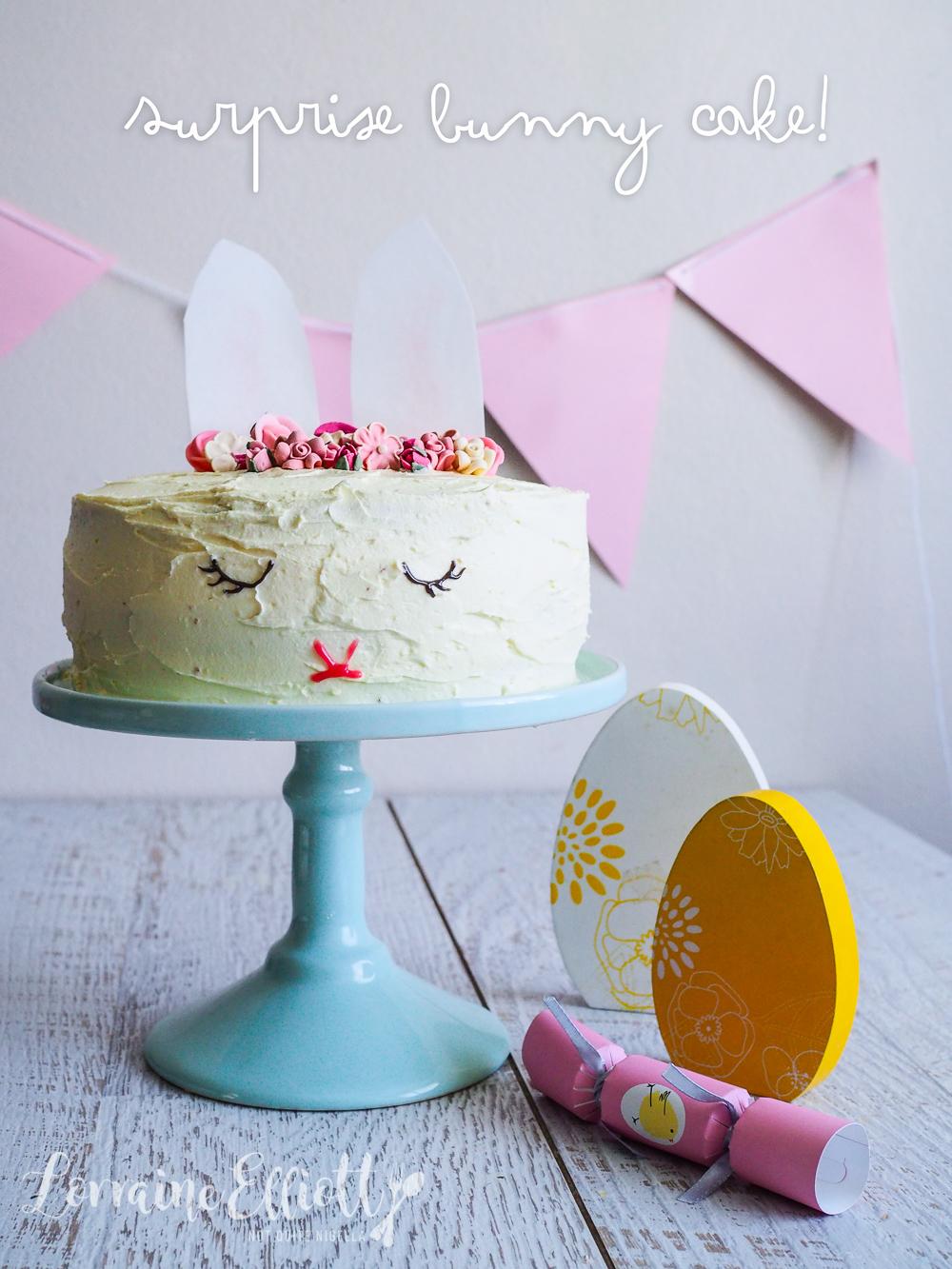 Miraculous Sleeping Bunny Rabbit Surprise Cake Not Quite Nigella Personalised Birthday Cards Veneteletsinfo