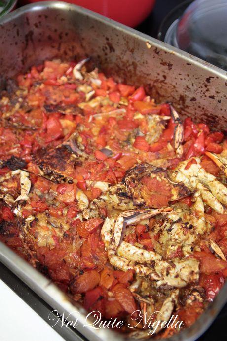 crab harissa soup