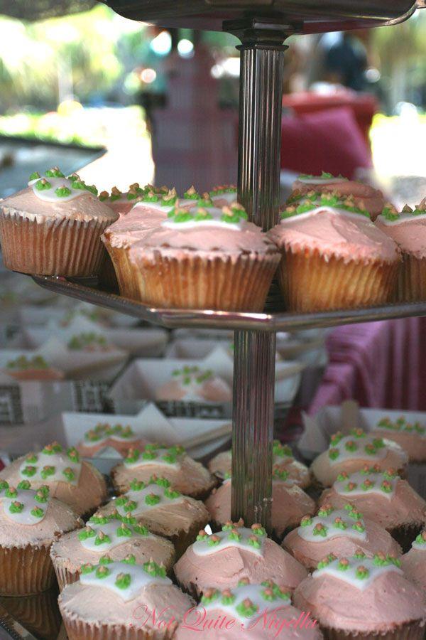 Pink Salt cupcakes