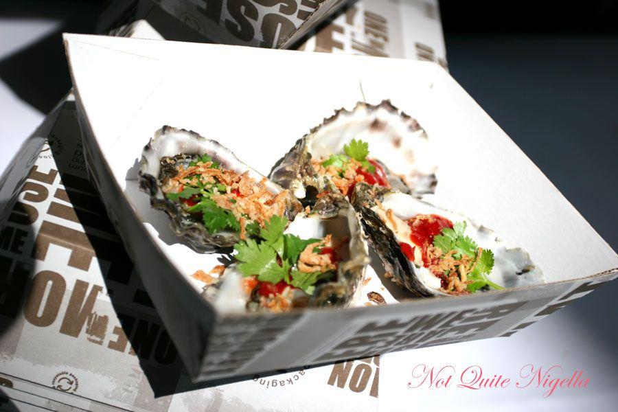 Salon Blanc Oysters