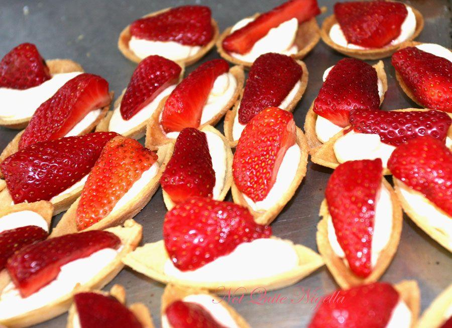 The Tea Room strawberry tart