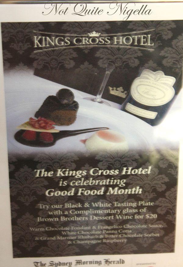 SMH Good Food Month Kings Cross Hotel Sugar Hit 2008