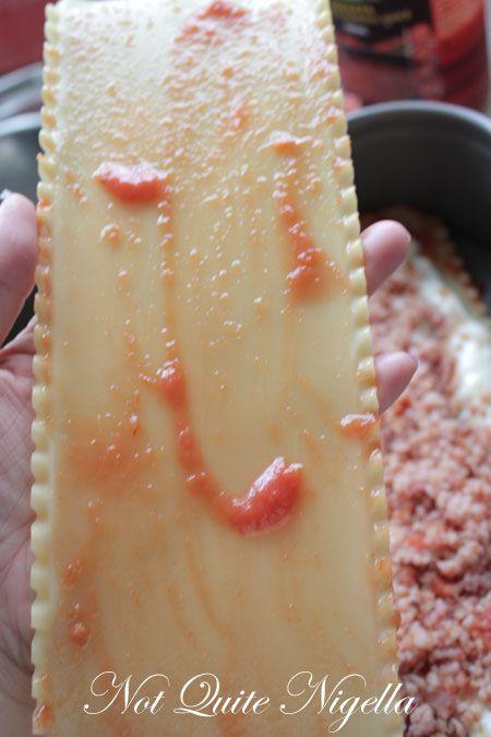 bacon lasagne recipe
