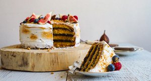 Warm & Toasty: A Toasted Marshmallow S'Mores Layer Cake